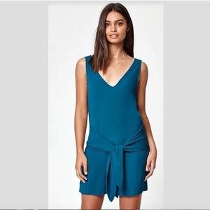 Kendall And Kylie Teal Romper
